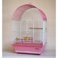 鳥かご 101アーチ手のりピンク 手のりケージ(小型) HOEI(豊栄/ホーエイ)