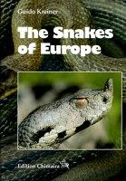 The Snakes of Europe ヨーロッパのヘビ大図鑑 ECOユニバース(エコユニバース)