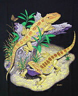 Bearded Dragon アゴヒゲトカゲ Tシャツ ECOユニバース(エコユニバース)