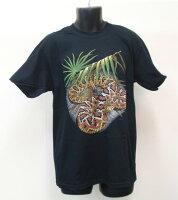 Eastern Diamondback ヒシダイヤガラガラヘビ Tシャツ ECOユニバース(エコユニバース)