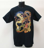T52 Pythons of the World 世界のニシキヘビ Tシャツ ECOユニバース(エコユニバース)