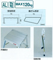 折りたたみ式作業台AG AG-B400 ピカコーポレイション