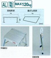 折りたたみ式作業台AG AG-B600 ピカコーポレイション