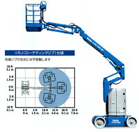 自走式電気駆動屈伸Z-Boom Z-30/20N RJ ピカコーポレイション