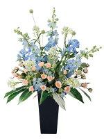 光触媒造花アレンジ 光の楽園 スイートブルー 3A0704-300