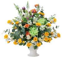 光触媒造花アレンジ 光の楽園 ジュピターローズ 3A0802-200