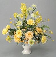 光触媒造花アレンジ 光の楽園 シャンパンローズ 3A0804-200