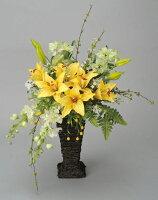 光触媒造花アレンジ 光の楽園 ゴールデンフラッシュ 3A1203-120