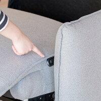 リソム ラウンジチェア メープル材クリア塗装 CH7195A E-comfort(イーコンフォート)