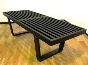 プラットフォームベンチ W152 アッシュ材ブラック塗装 CT3005C E-comfort(イーコンフォート)