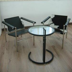 サイドテーブル E1027 ブラック CT3035 E-comfort(イーコンフォート)