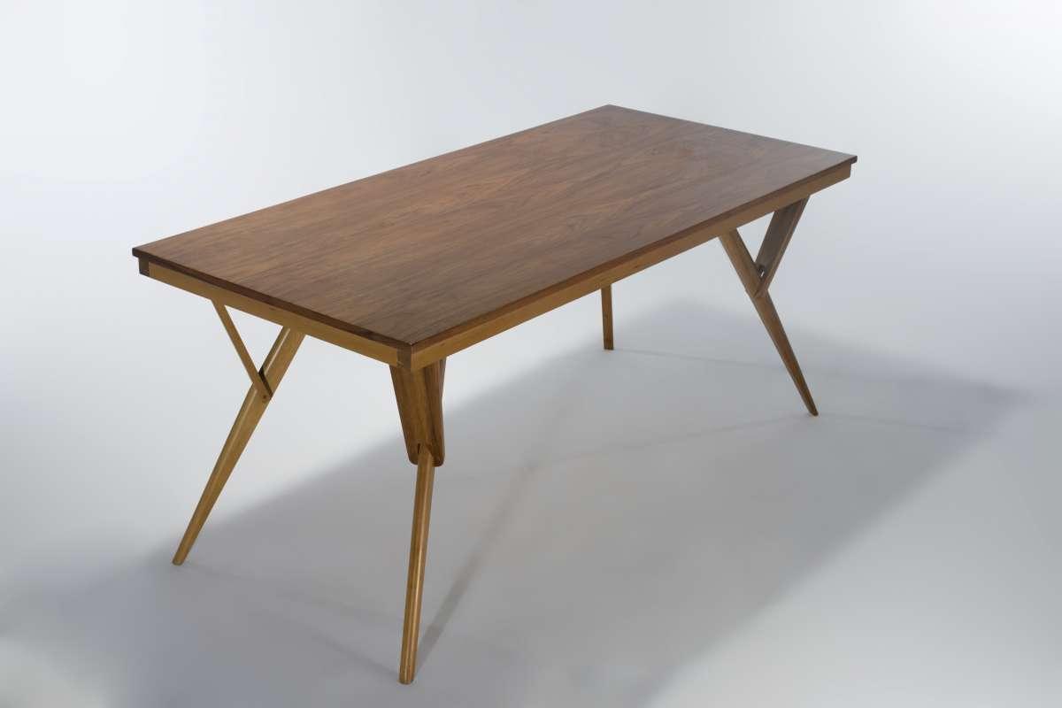 ダイニングテーブル ウォールナット材 DT7189 E-comfort(イーコンフォート)