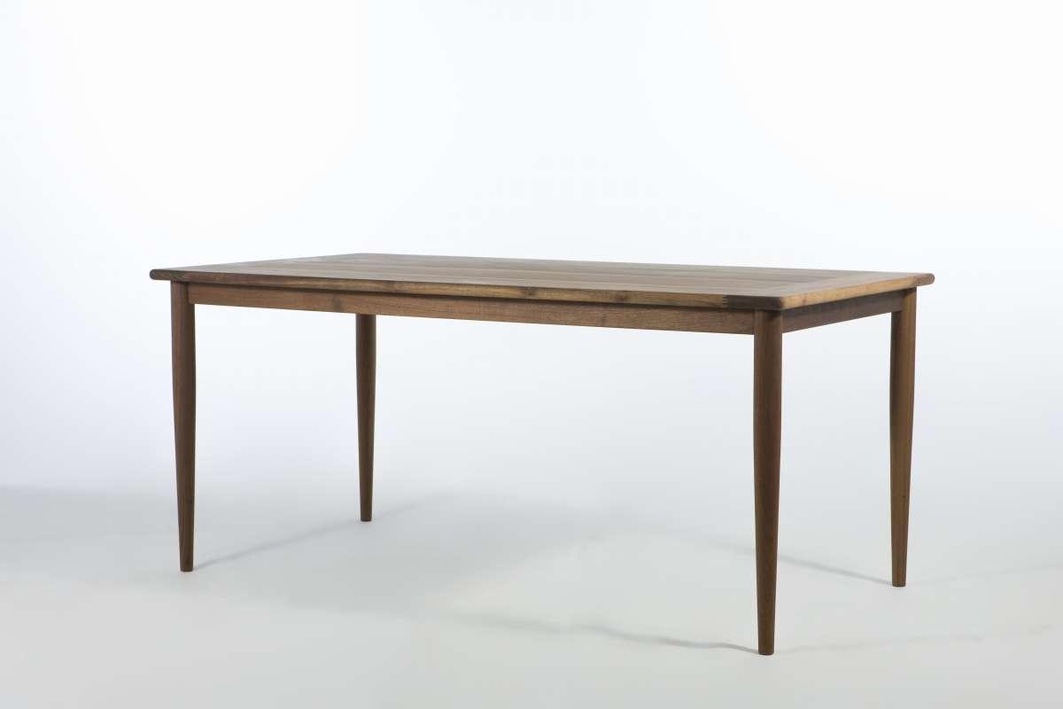 ソリッドウッデンテーブル ウォールナット W1400 DT8299 E-comfort(イーコンフォート)