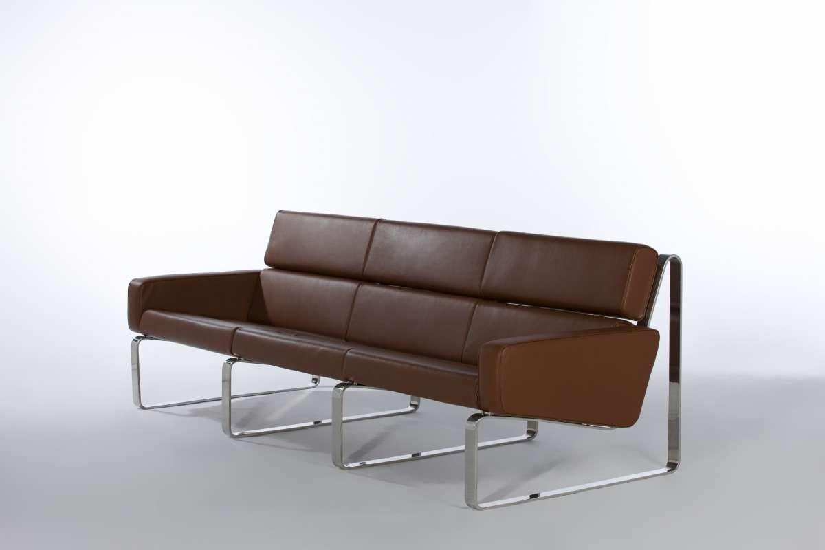 ジャスパー3シートソファ デラックスレザー SF7281C E-comfort(イーコンフォート)