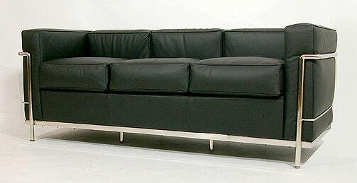 LC2 三人掛けソファ PremiumEdition スタンダードレザー SF7040C E-comfort(イーコンフォート) - ウインドウを閉じる