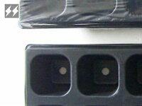育苗ポットミニ41mm角型12穴連結 6枚入り SS-POT41 昭和精機
