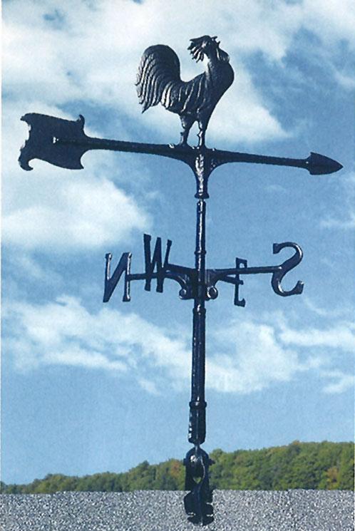 風見鶏 WV-E30型(オンドリ黒) 02002 ジャービス商事