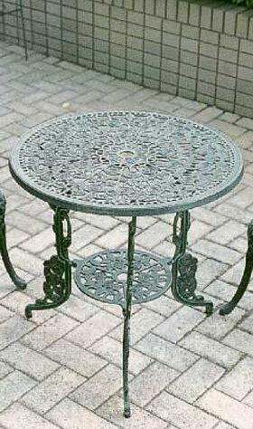 アルミ鋳物 テーブル(大) 13046 ジャービス商事