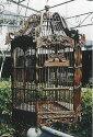 アンティーク調鳥かご六角形 Bタイプ 15406 ジャービス商事