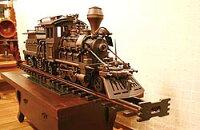 ウッド機関車 デラックス型 18701 ジャービス商事