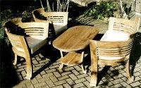 ロマンティックテーブル4点セット クッション付 20827_20828_20829k ジャービス商事
