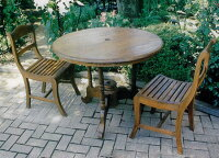 デラックス丸テーブル 3点セット 20830_71094 ジャービス商事