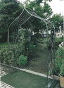 ガーデンアーチB型 24002 ジャービス商事