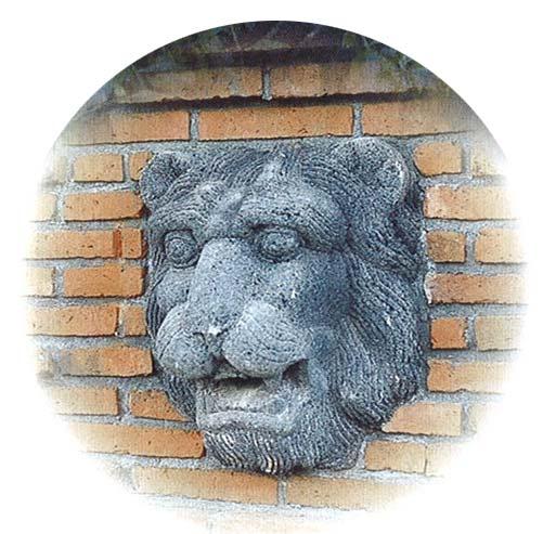 壁泉 ライオン フェイス 28307 ジャービス商事