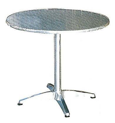 アルミテーブル丸 YT1-80 32604 ジャービス商事
