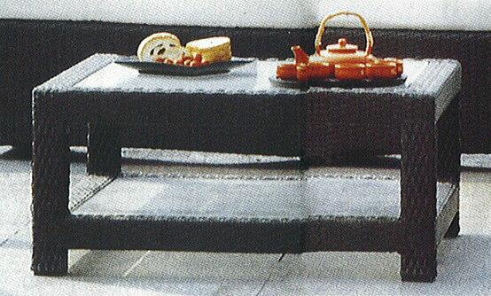 ガラスエンドテーブル HY-2050Z 32705 ジャービス商事
