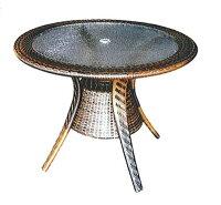 ラウンドガラステーブル HY-2044Z 32714 ジャービス商事