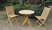 折り畳みテーブル 3点セット 37013_37014 ジャービス商事