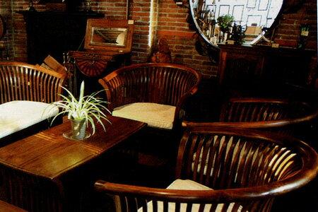 フラワーテーブル 5点セット クッション付 37060_27802 ジャービス商事