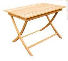 折り畳みスクエアテーブルA 37099 ジャービス商事