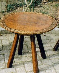 ラタンウッドテーブル 70047 ジャービス商事