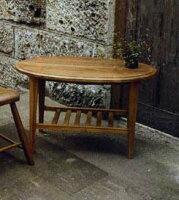 オーバルコーヒーテーブル 71038 ジャービス商事