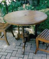 デラックス丸テーブル 71094 ジャービス商事