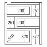 エコビア09 スライドオープンラック EB-900S タカシン家具