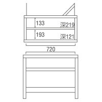 エコビア01 ドレッサー EB-ドレッサー タカシン家具