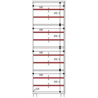 エコスト 玄関収納・下駄箱 ミラー付 EC-1760 タカシン家具