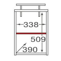 ミラベル オプション上置き(MB-1840T用) MB-5540UP タカシン家具