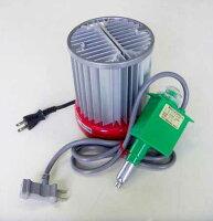 FHB-1508S 小型温室パネルヒーターセット 送料激安 小型温室+サーモ付き温室保温用ヒーター SPG-200