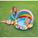 INTEX(インテックス) Disney ベビープール WINNIE THE POOH BABY POOL 102×69cm 57424  |ビニールプール 子供用 家庭用プール 小さい ベランダ プーさん