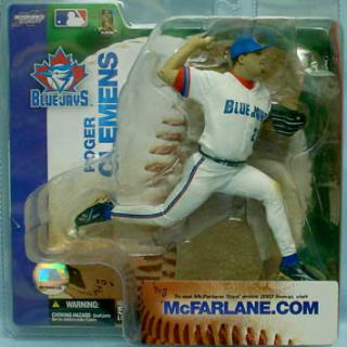 McFarlane Toys MLB figures series 6 / Roger Clemens chase / Toronto Blue Jays