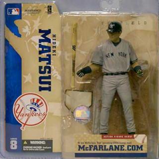 McFarlane toys MLB figure skating series 8/ Hideki Matsui (H.MATSUI)/ New York Yankees /mcfarlane