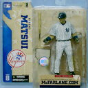 【まもなく再入荷 1806】マクファーレントイズ MLB フィギュア シリーズ8/松井 秀喜(H.MATSUI) variant ピンストライプ/ニューヨーク・ヤンキース/mcfarlane【05P18Jun16】