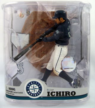 22 McFarlane toys MLB figure skating series Ichiro / Seattle Mariners
