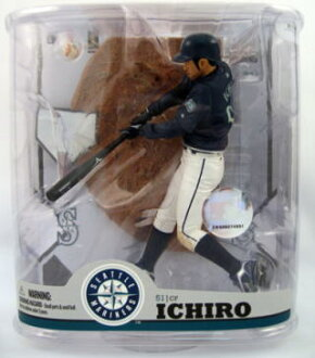 McFarlane Toys MLB figures series 22 Ichiro and Seattle Mariners