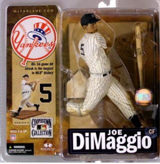 The McFarlane toys MLB Cooperstown series 4/ Joe DiMaggio / New York Yankees