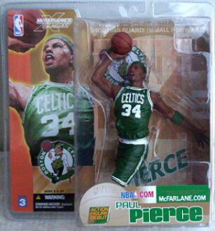 McFarlane NBA series 3/Paul Pearce/Boston Celtics